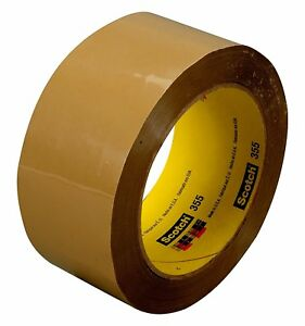 Scotch 72327 case Box Sealing Tape 355 Tan 72 Mm X 50 M pack Of 24