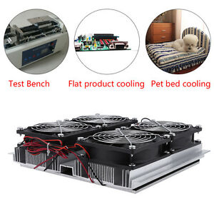 240w Semiconductor Refrigeration Thermoelectric Peltier Cold Plate Cooler W Fan