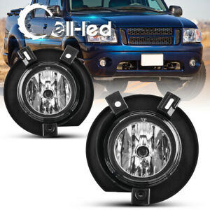 For 2002 2003 2004 2005 Ford Explorer Clear Bumper Fog Light Lamps W Bulbs Pair