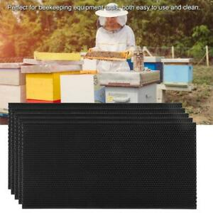 5xplastic Auto Honey Beehive Frames Beekeeping Tool Kit Bee Hive Pollination Box