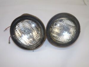 Farmall 706 Tractor Head Lights 1