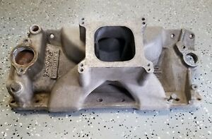 Edelbrock Victor Jr Tall Intake For Sbc Pn 2999