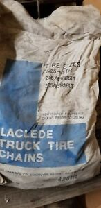 Laclede Truck Tire Chains 1 Pair 4231r