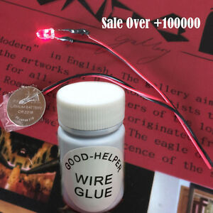 Best Quality No Silver Solder Iron Conductive Glue Wire Electrically 25pcs