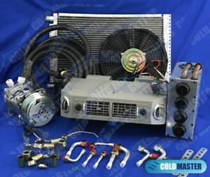 New A c Kit Universal Under dash Evaporator Small Heater Combo 406 1 12v