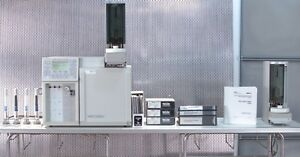 Varian Cp 3800 3380 Gas Chromatograph W 8200 Autosampler Sw 3 2 6c