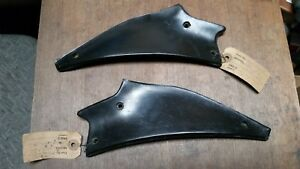 Nos Gm 1949 52 Chevy Styleline Fleetline Special Sdl Pair Front Fender Shields