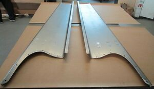 New 1937 Chevy gmc Truck 1 2 Ton Smooth Steel 16g Running Boards Hot Rod Street