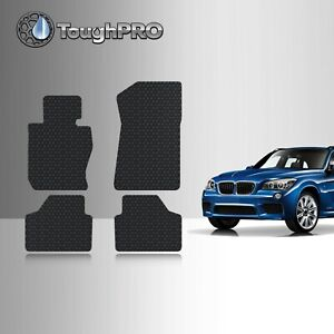 Toughpro Floor Mats Black For Bmw X1 Sdrive All Weather Custom Fit 2010 2015