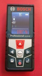 Bosch Professional Glm 42 Blaze 135 Ft Laser Distance Measure With Bluetooth