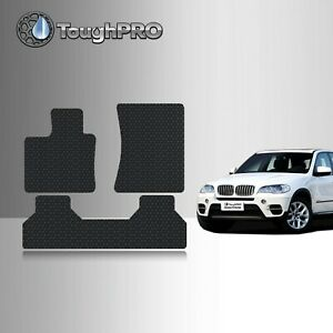 Toughpro Black Rubber Heavy Duty Custom Fit For 2007 2013 Bmw X5 Floor Mats