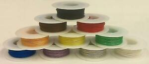 10 Color Assortment 28awg Solid Kynar Insulated Electronic Hobby Or Crafts Wire