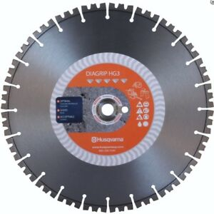 New Husqvarna 542756483 14 X 125 1dp 20mmb Hg5 Diagrip Diamond Saw Blade