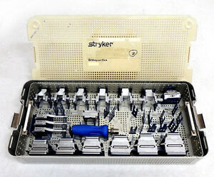 Stryker Orthopedic Hip Surgical Instruments Accolade Femoral Mis General Tray