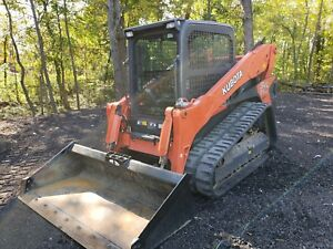 2016 Kubota Svl 95 2 Skid Steer Track Loader A c Heat New Tracks 500 Hrs