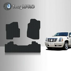 Toughpro Floor Mats Black For Cadillac Escalade Esv All Weather 2007 2014