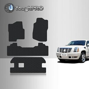 Toughpro Floor Mats 3rd Row Black For Cadillac Escalade Esv Bench 2007 2014