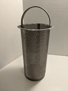 A213 Core Sediment Strainer Basket Perforated Hydraulic Ss Perf 0 057 144 sq In