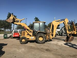 2004 Caterpillar 446d Erops Backhoe Loader