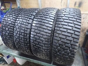 4 35x12 50r17 Mickey Thompson Short Course Truck Racing Tires 23 32 No Repairs