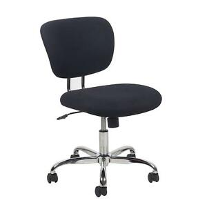 Essentials Ess 3090 Swivel Upholstered Armless Task Chair Ergonomic