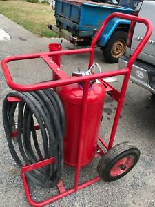 Amerex 488 Wheeled Commercial Fire Extinguisher Type Abc