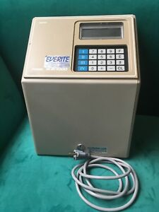 Amano Microder Time Clock Mjr7000 Time Card Clock