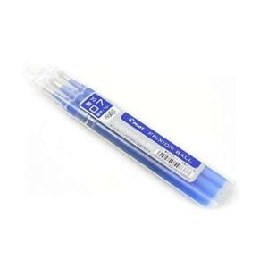Pilot japan Frixion Ball 0 7mm Blue Ink 3 refills X 10 pack