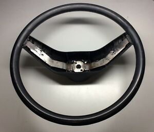1973 1986 Ford Truck Bronco Steering Wheel F150 F250 Ranger Oem Black