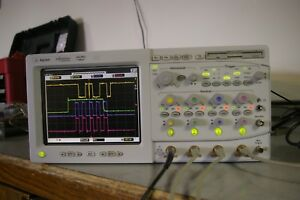 Agilent 54825a 2gsa s 500 Mhz 4 Channel Color Digital Oscilloscope Cal d Nice