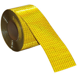 Reflective Tape Safety Self Adhesive Strip Reflector Sticker 4 x150