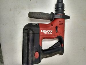 Hilti Te 6a Cordless Rotary Hammer Drill With Battery And No Charger