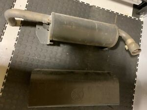 John Deere Gator Spark Arresting Muffler am140438 Includes Heat Shield m177694