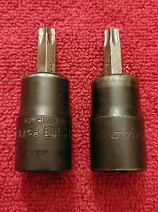 Snap On 1 2 Dr T45 T50 Torx Power Socket Driver Pstx45e Pstx50e
