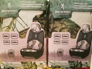 Pink Browning Seat Covers