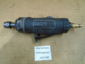 C482 Matco Tools Mt2880 1 2 Hp Straight 1 4 Air Pneumatic Die Grinder W Hi Lo