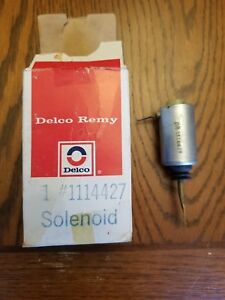 1970 1971 1972 Chevelle Ss El Camino Cowl Induction Solenoid Nos Gm 1114427 Rare
