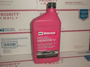 Genuine Motorcraft Synthetic Blend Mercon V Automatic Transmission
