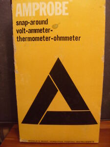Amprobe Fs 3 Snap around Volt ammeter thermometer ohmmeter