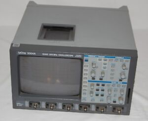 Lecroy 9304a Quad 200mhz Oscilloscope 4 Channels 100 Ms s