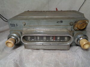 Fomoco 04md 289399 Radio Ford Old Vintage Car Stereo Classic Hot Rat Rod As Is