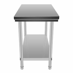 Stainless Steel Commercial Kitchen Work Food Prep Table 24 X 48 Kitchen Xv