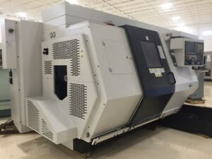 Used 2013 Biglia B446 Y Axis Live Tool Cnc Turning Center Twin Turret Sub Lathe