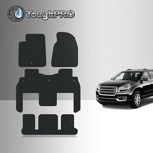 Toughpro Floor Mats 3rd Row Black For Gmc Acadia Bucket All Weather 2007 2016
