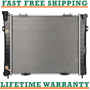 Radiator For 93 98 Jeep Grand Cherokee 4 0l L6 Fast Free Shipping Direct Fit