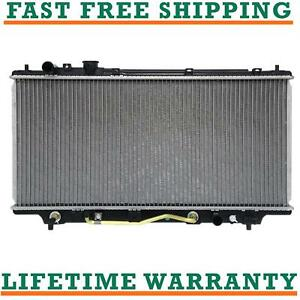 Radiator For 95 98 Mazda Protege 1 5l 1 8l L4 Fast Free Shipping Direct Fit