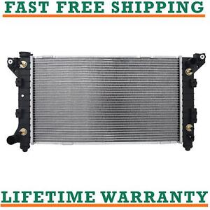 Radiator For 96 00 Grand Caravan Voyager Town Country L4 V6 Direct Fit