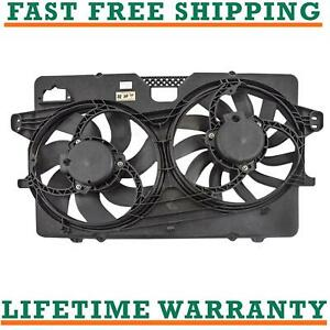 Radiator And Condenser Fan For Ford Mercury Fits Escape Mariner Fo3115182