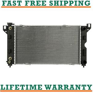 Radiator For 1996 2000 Chrysler Town Country Grand Voyager 2 4l V6 Direct Fit