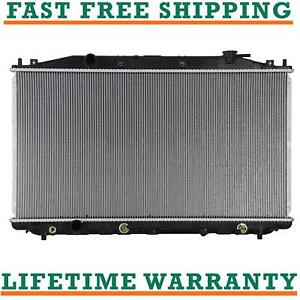 Radiator For 08 14 Honda Accord 12 14 Crosstour 12 14 L4 2 4l Direct Fit